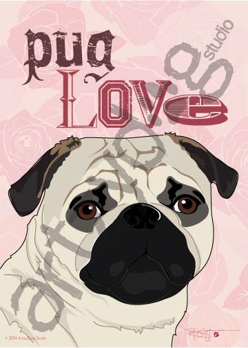 Print: Pug Love