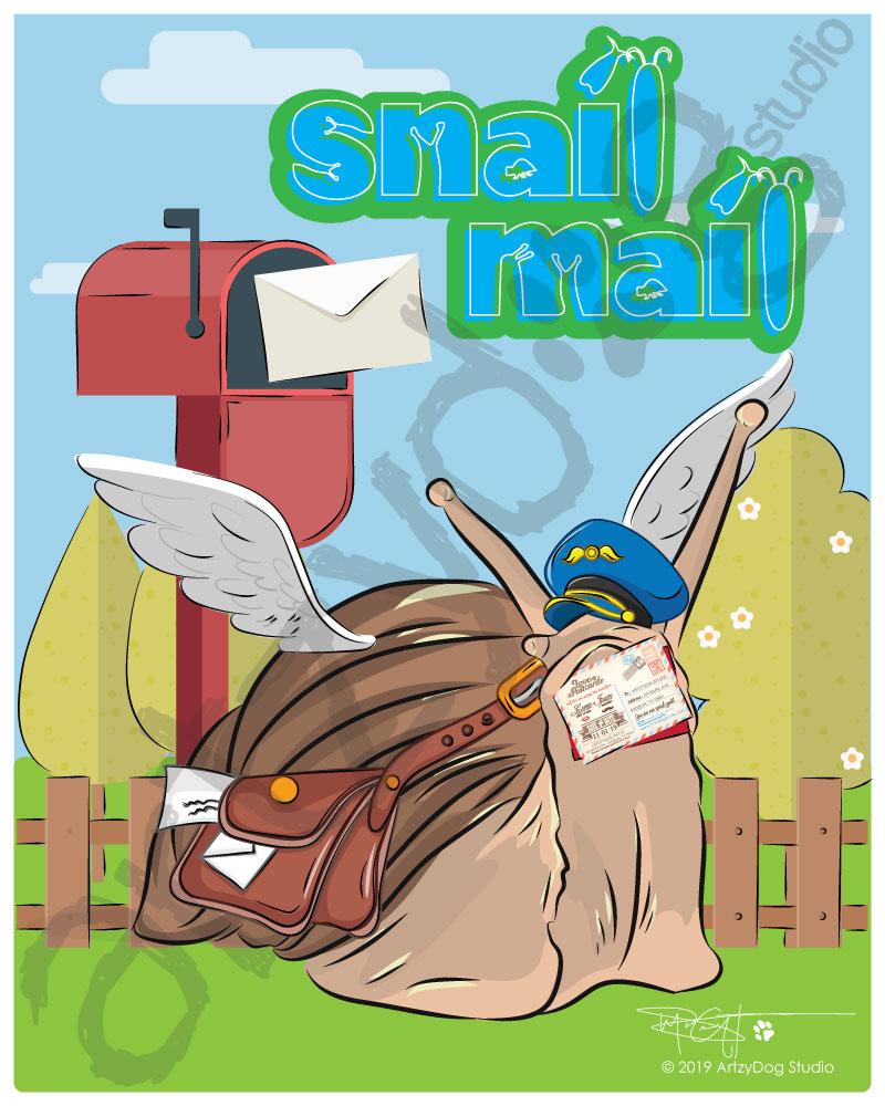 Print: Snail Mail