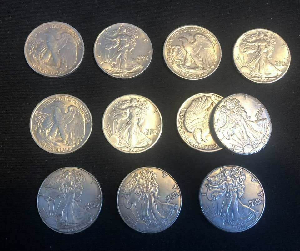 Walking Liberty Set