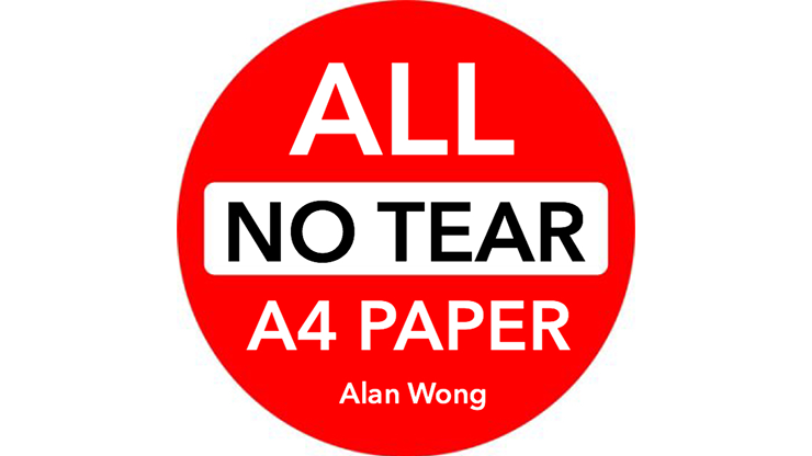 "No Tear Pad (Extra Large, 8.5 X 11.5 "") ALL No Tear by Alan Wong - $25"