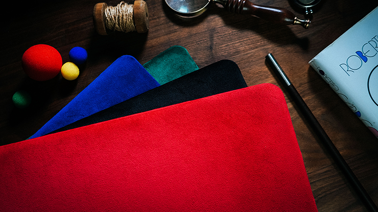 Suede Leather Large Pad (Red) - $30