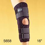 "5658 XXX HW Knapp Hinged Knee Orthosis-Anterior Closure 16"""