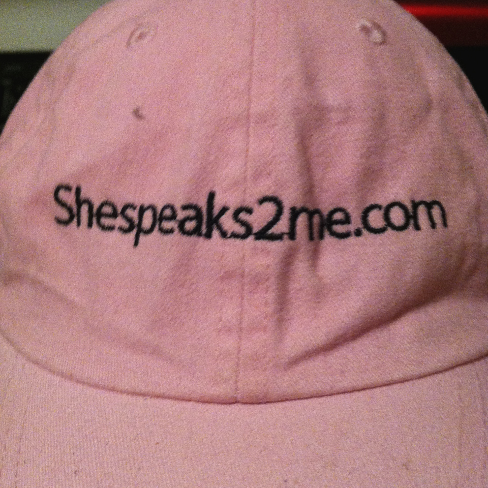 shespeaks2me cap