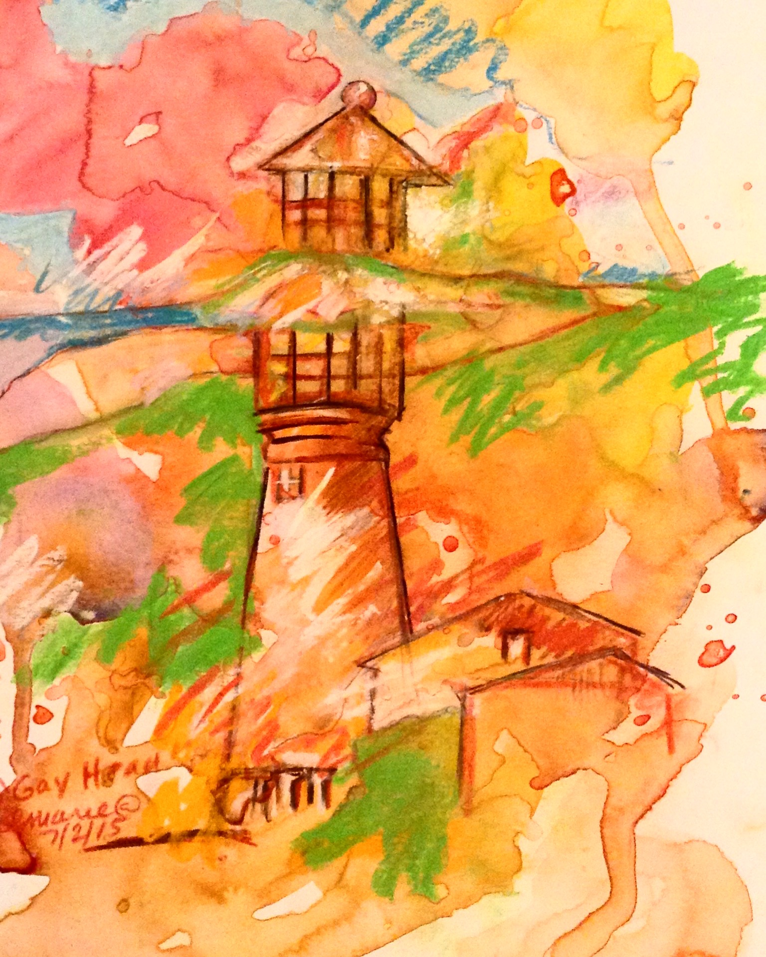Gayhead Lighthouse