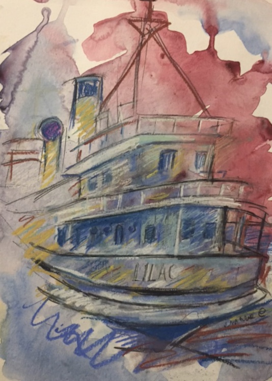 Lilac Lighthouse Tender