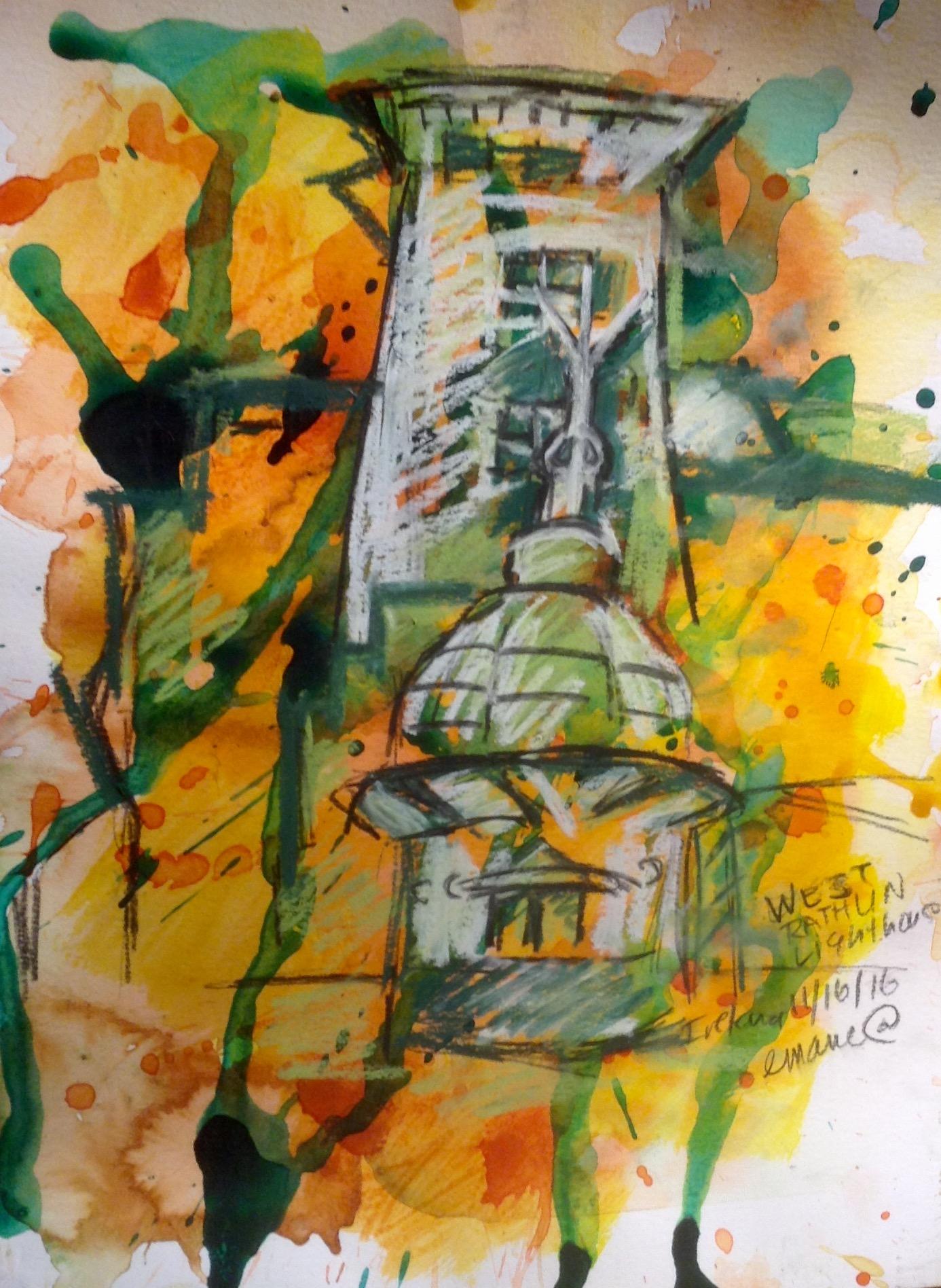 West Rathlin Lighthouse