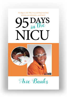 95 Days in the NICU - Paperback (No Shipping)