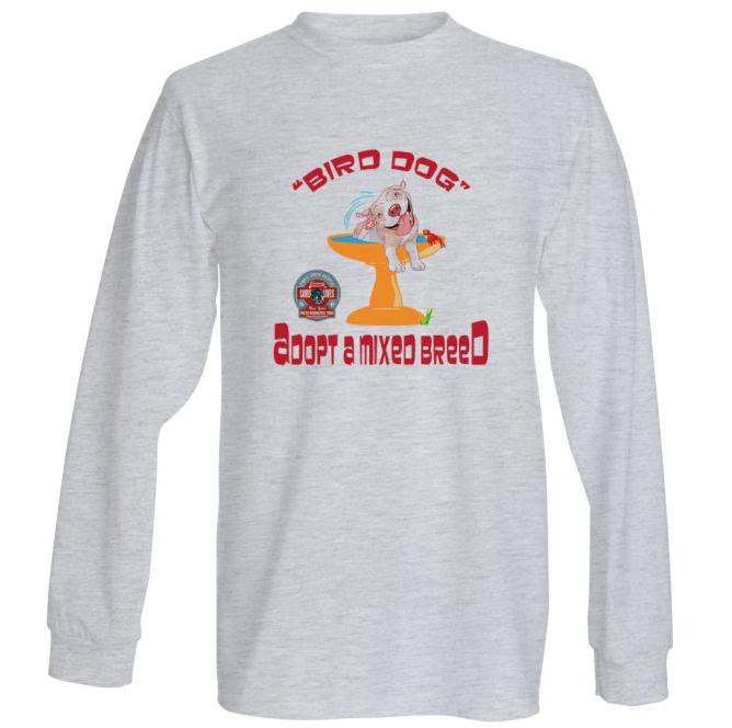 Adopt a mixed breed long sleeve shirt
