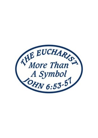 Eucharist Decal