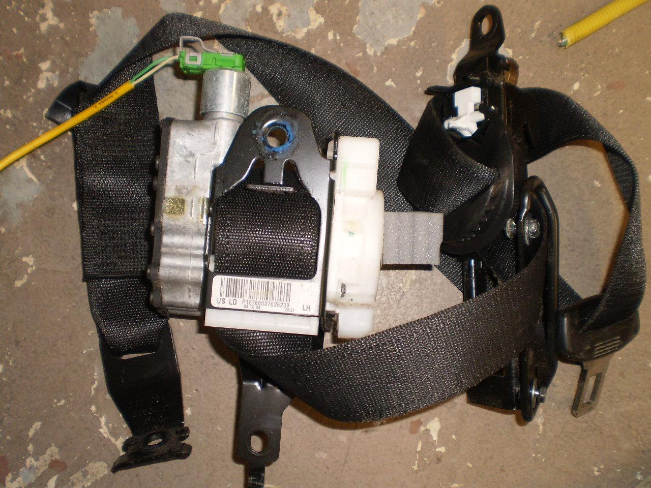 2003-06 SAAB 9-3 DRIVER SEAT BELT