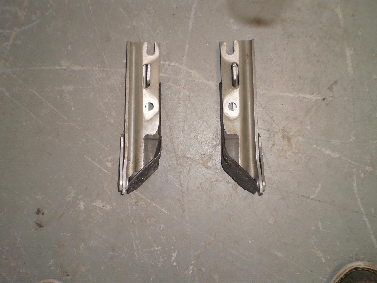 03-07 Saab 93 Hood Hinge Left & Right Set Hinges