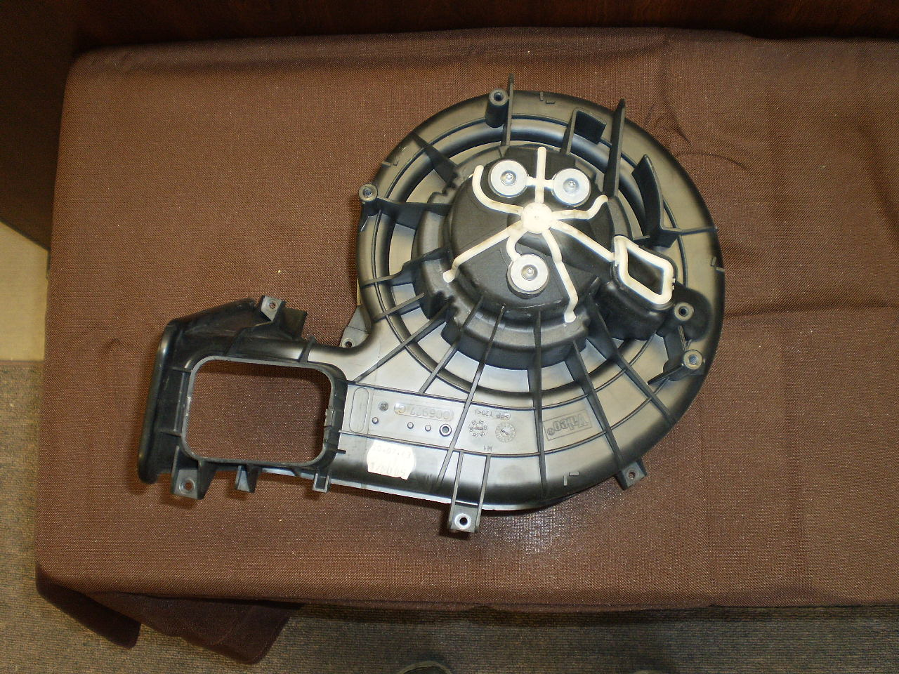 SAAB 9-3 Blower Assy without Climate Control (03-07)