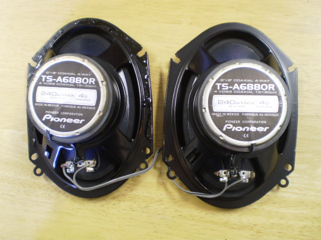 03-07 SAAB 9-3 REAR SPEAKERS