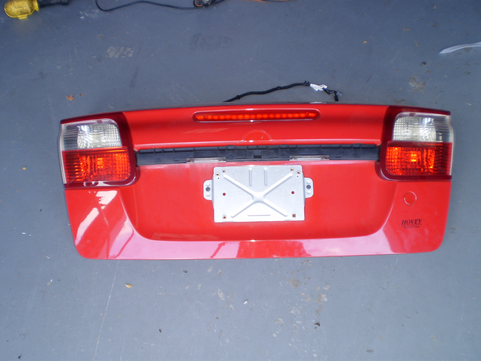 2004-07 SAAB 9-3 CONVERTIBLE PASSENGER (R/S) TRUNK LIGHT