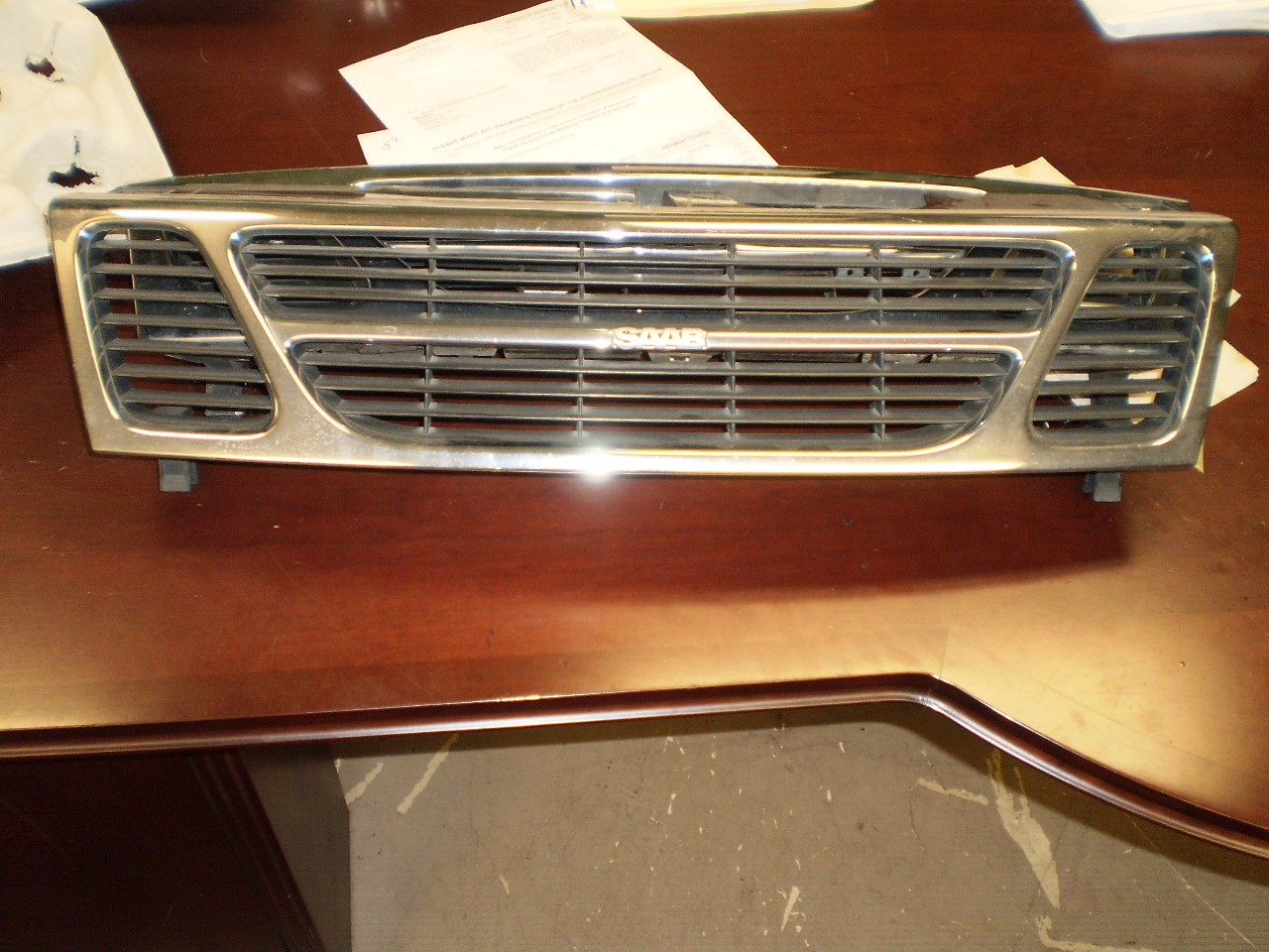 01-03 SAAB 9-3 Front Grill