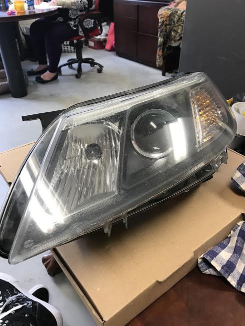 08-11 SAAB 9-3 Headlight HALOGEN (D/L)