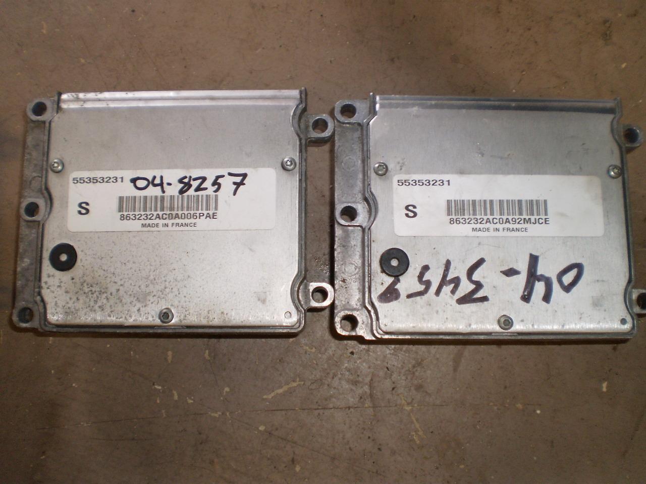 2004 SAAB 9-3 ECM 2.0L (04-05)