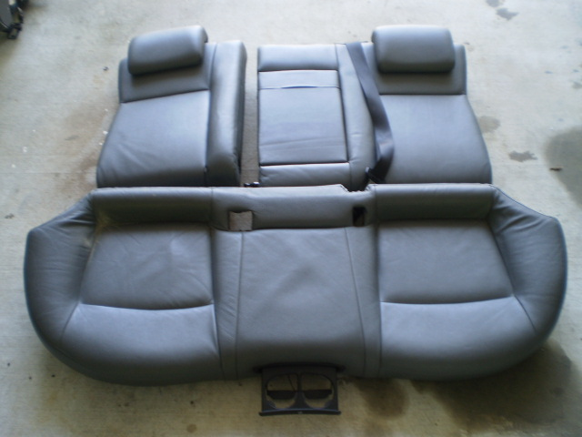 2003-06 SAAB 9-3 2.0L REAR SEAT GRAY