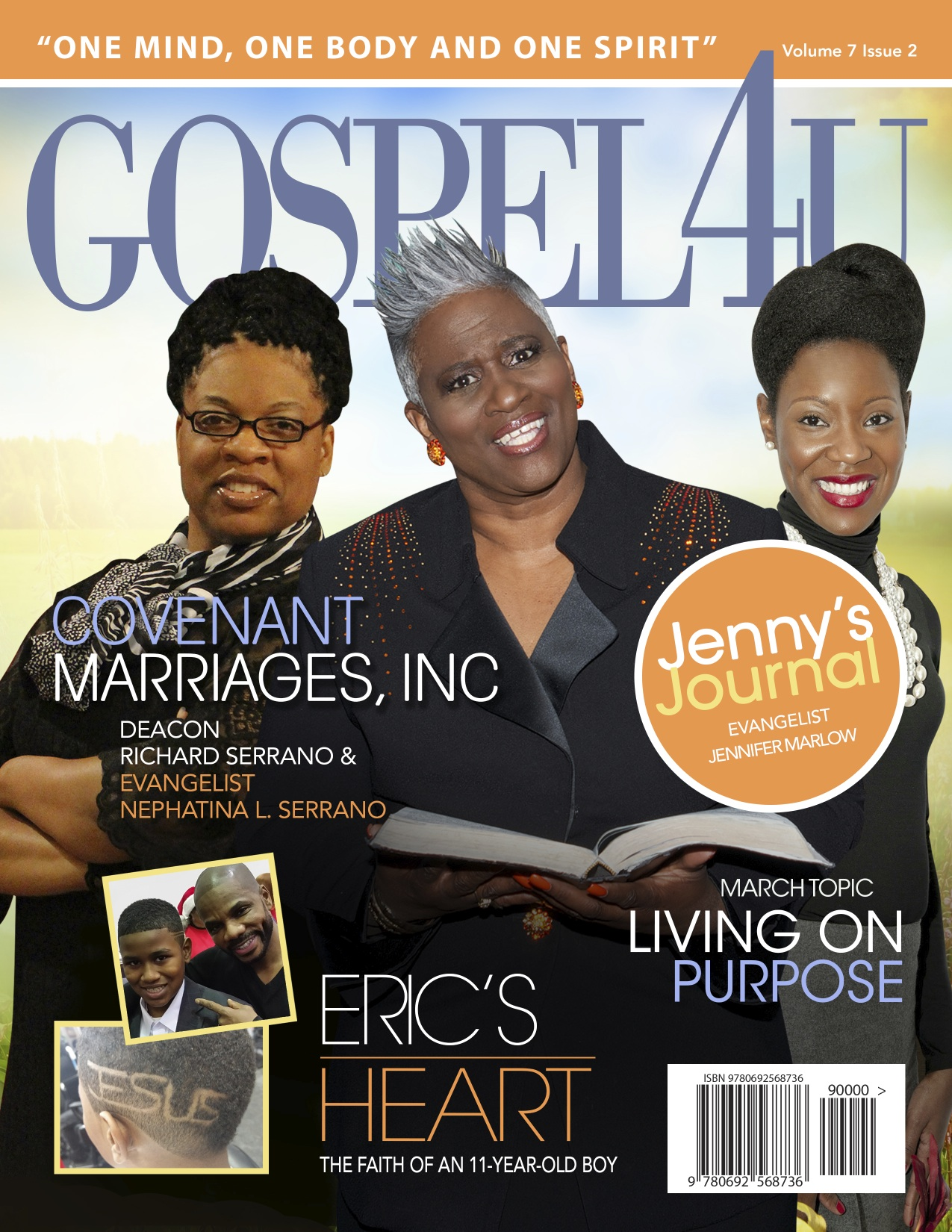 Gospel 4 U Magazine - April 2016