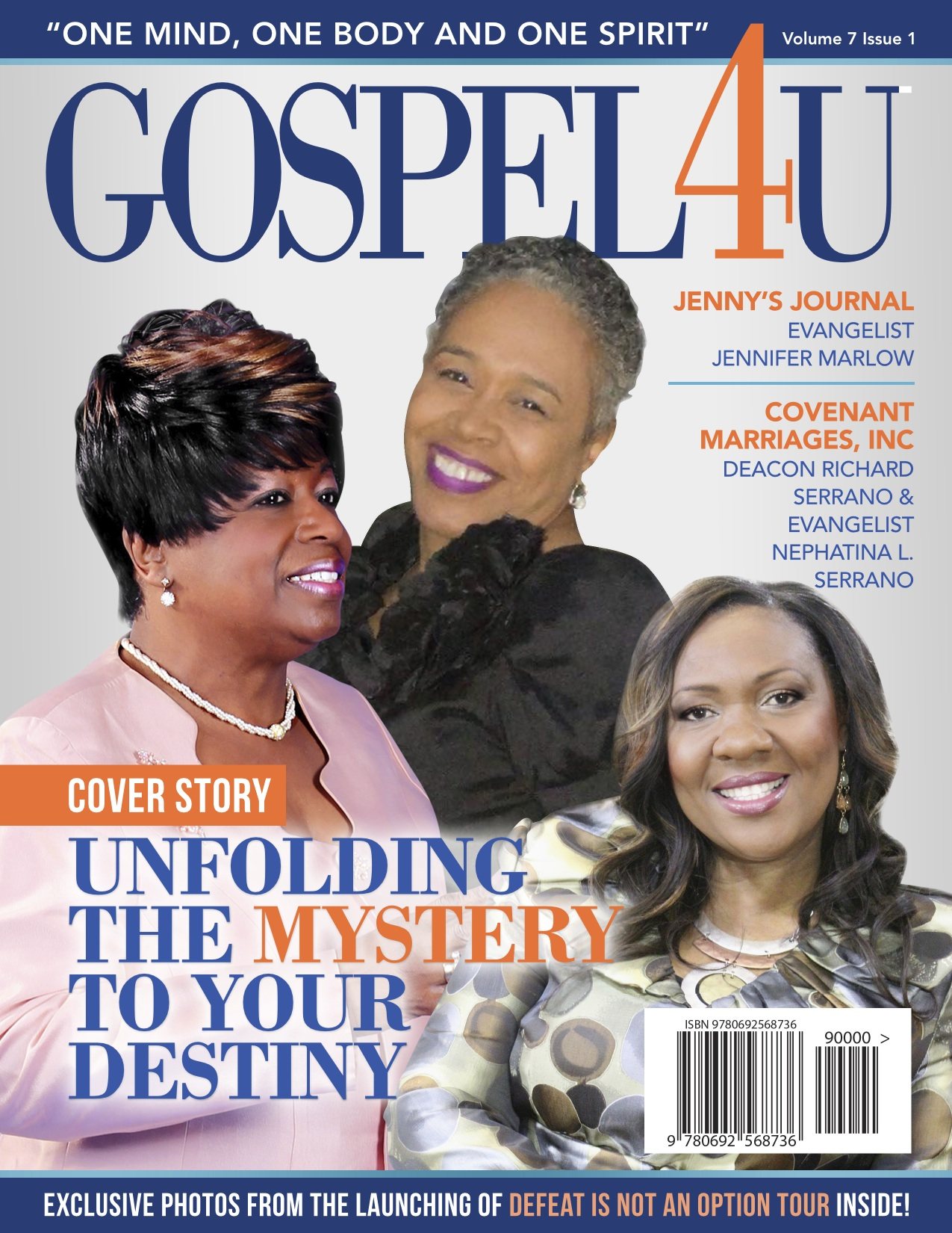 Gospel 4 U Magazine - February Issue