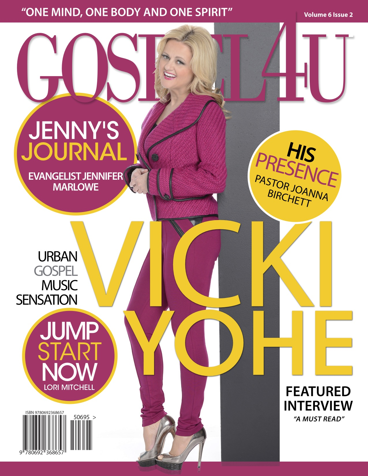 Gospel 4 U Magazine - March 2015