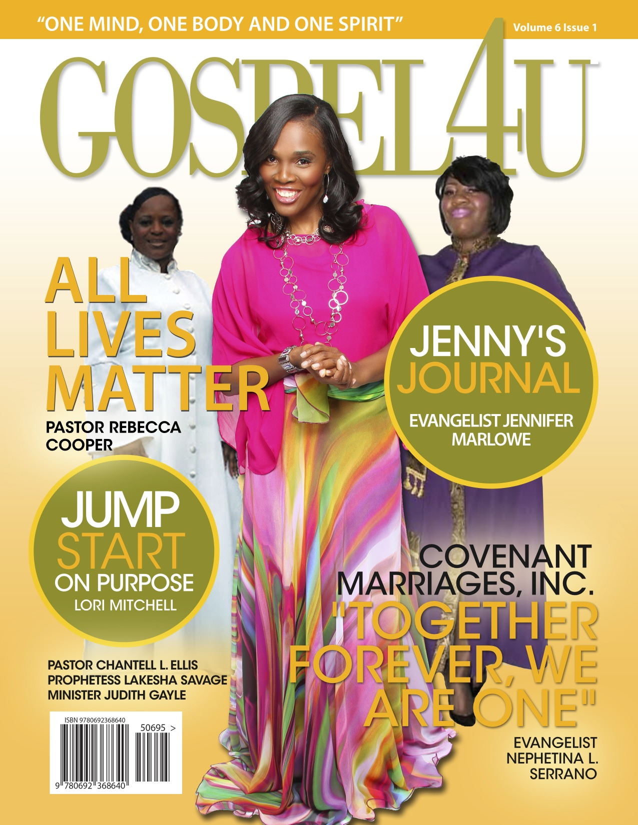 Gospel 4 U Magazine - January/February 2015