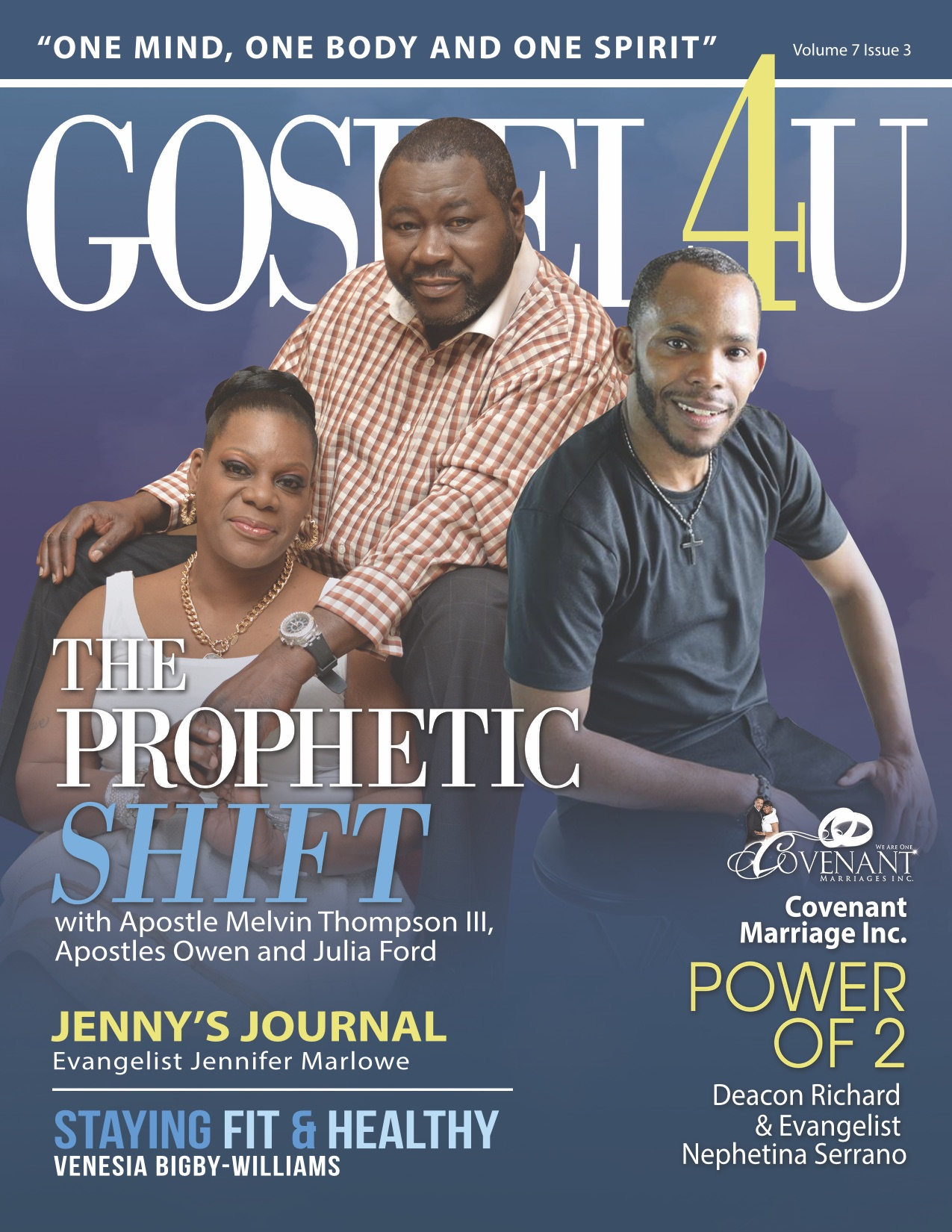 Gospel 4 U Magazine - June 2016