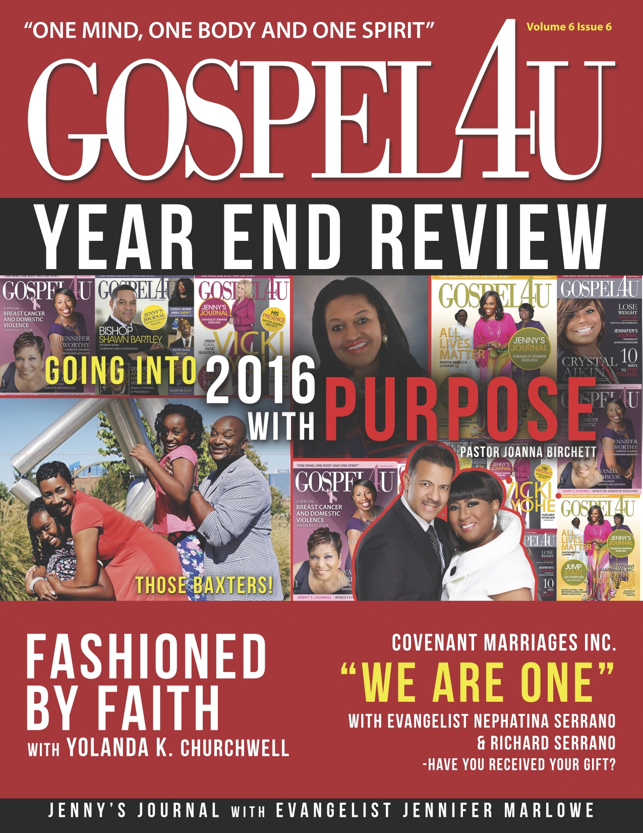 Gospel 4 U - End of Year Issue