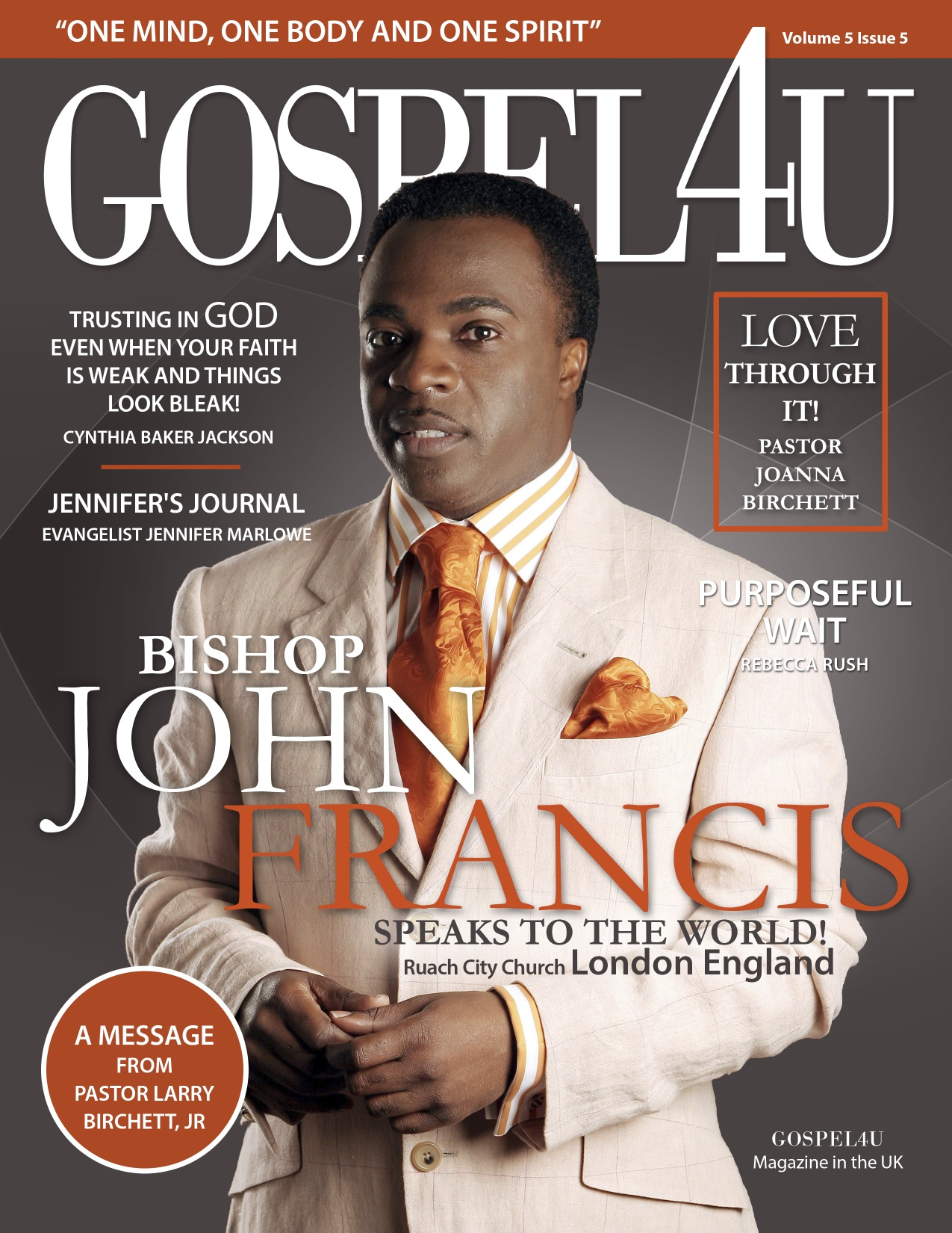 Gospel 4 U Magazine Oct/NOV Issue