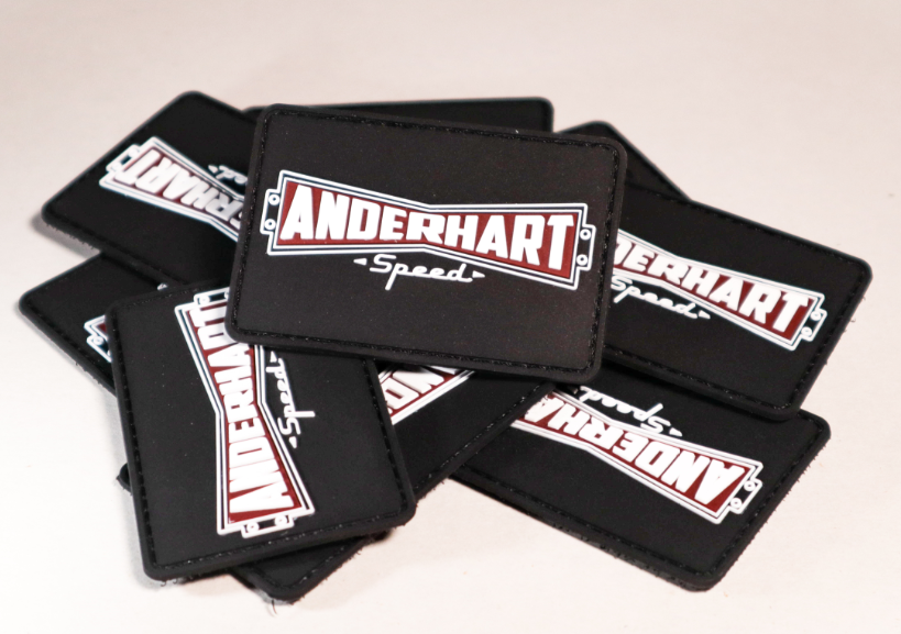 Traditional Anderhart Speed Logo Morale Patch