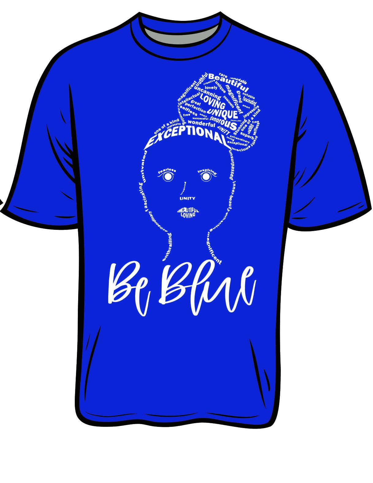 Be Blue T-shirt