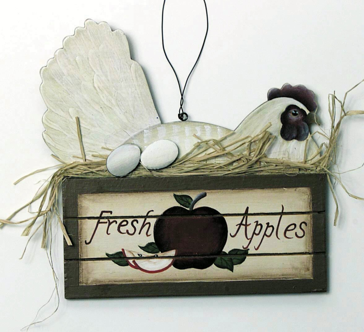 Hen in an Apple Box