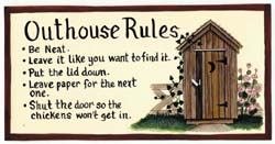 Outhouse Rules