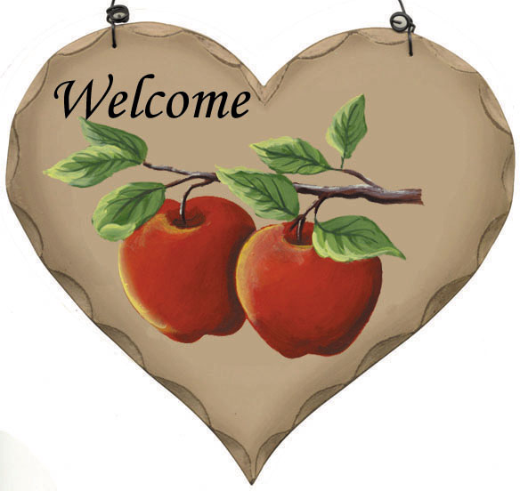 Apple Welcome Heart