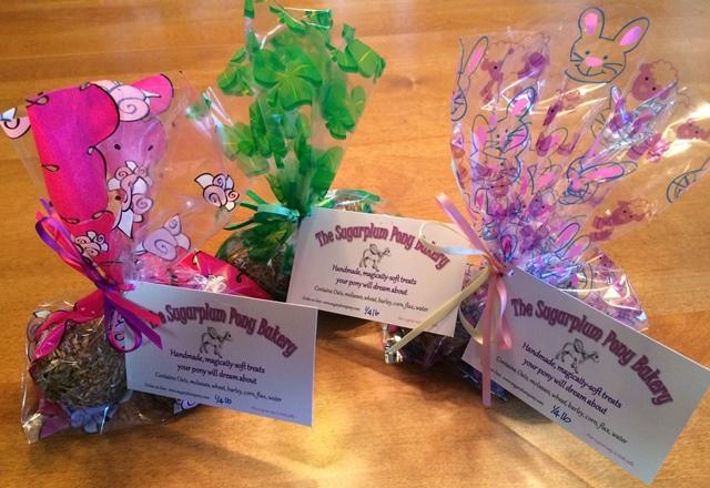Sugarplum Pony Treats 3-count Holiday/Seasonal Packaging