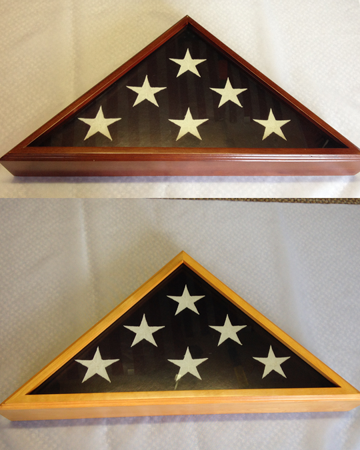 COMMEMORATIVE FLAG CASES