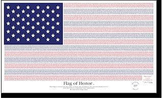 9-11 MEMORIAL FLAG