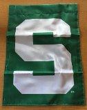 """Michigan State """"S"""" Garden Banner"""