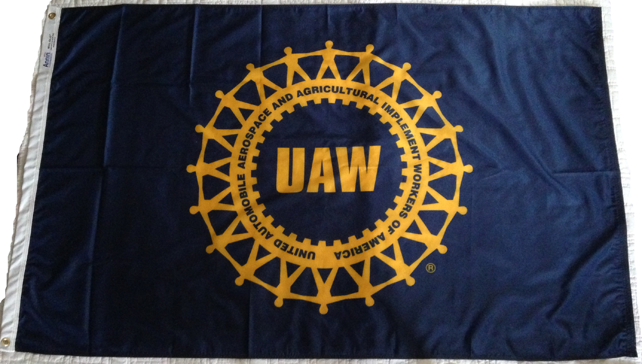 UAW FLAGS-