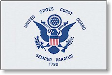 US COAST GUARD FLAGS-