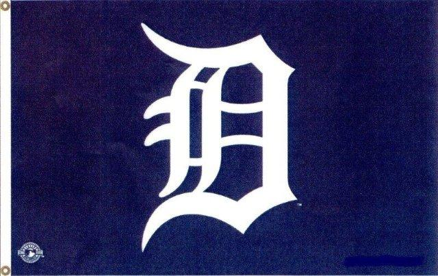 3' x 5' Detroit Tigers Flag