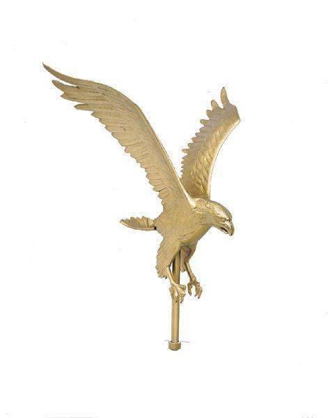 EAGLE FLAGPOLE TOPPER