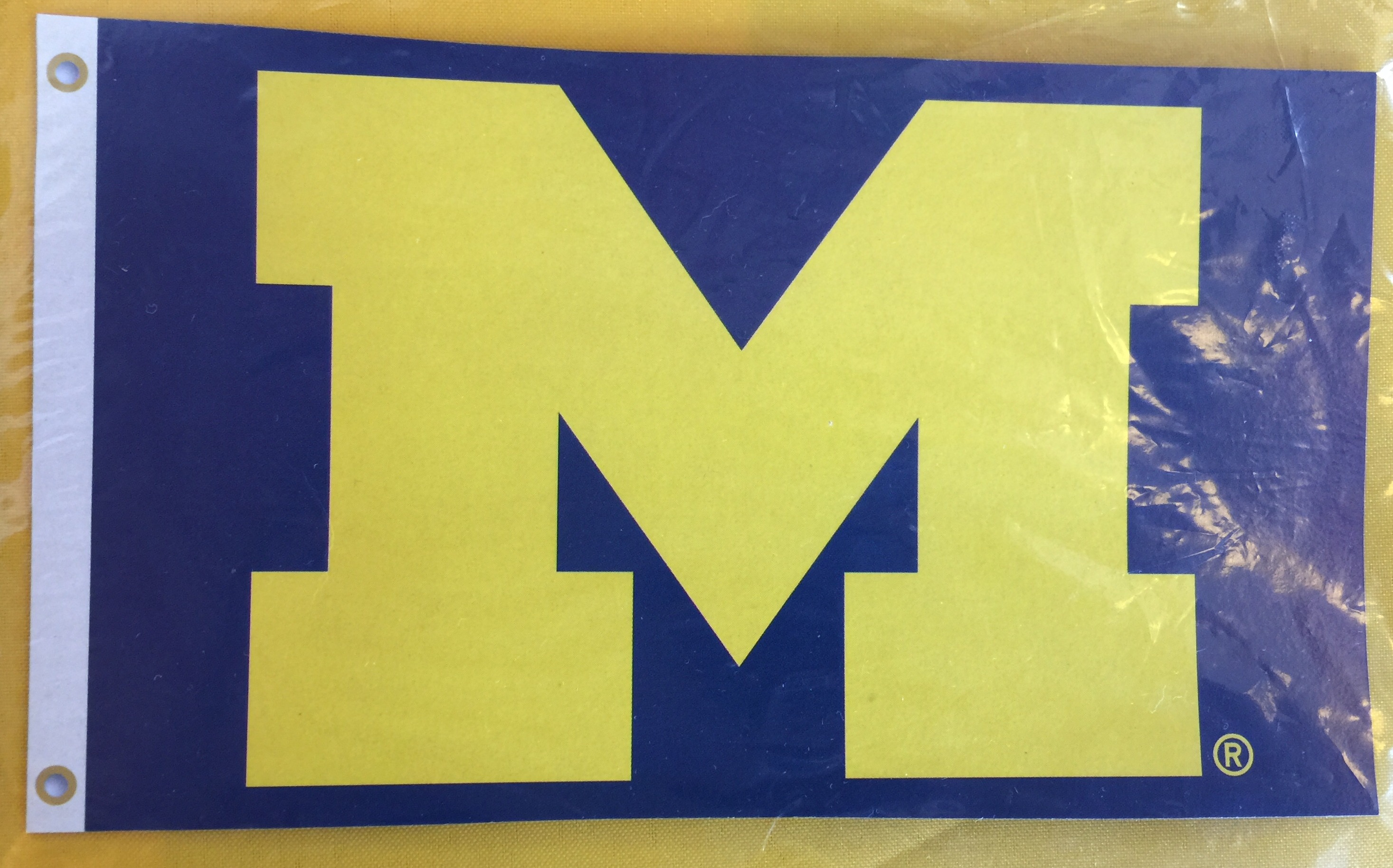 3'x5' University of Michigan M Flag
