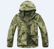 MEN'S TACTICAL JACKET  HTB1 GREEN CAMO