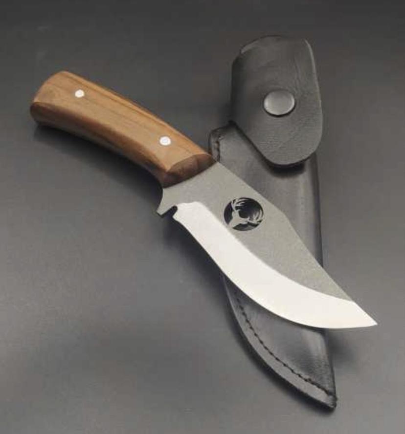 DEER HUNTING KNIFE HTB1 BROWN 2