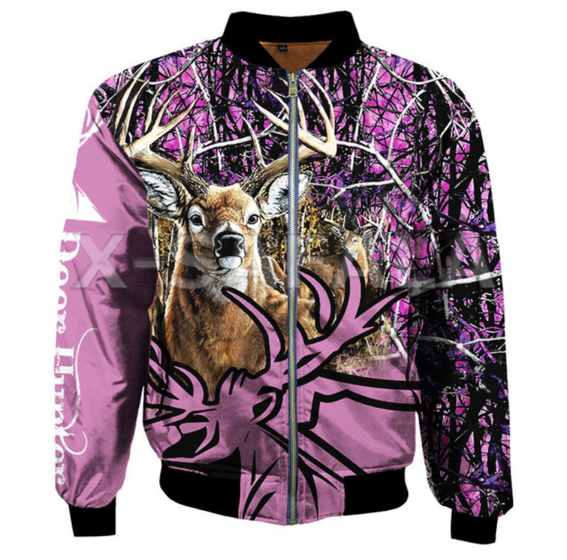 3D DEER JACKET HTB1 PINK