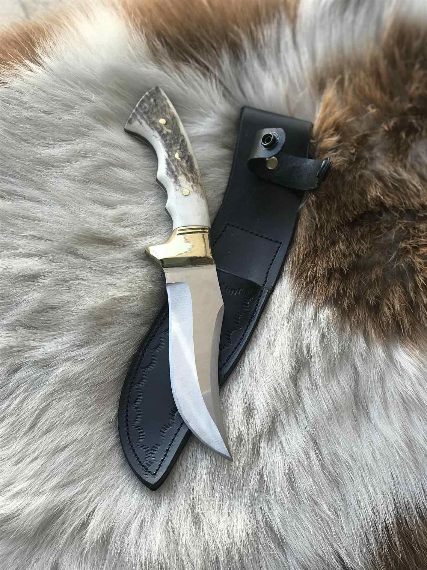 BUSHCRAFT HUNTING KNIFE HTB1 BOWIE 1