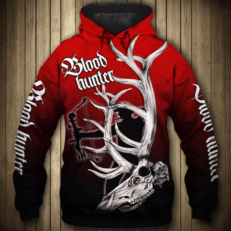BLOOD HUNTER HOODIE HTB1 RED 1