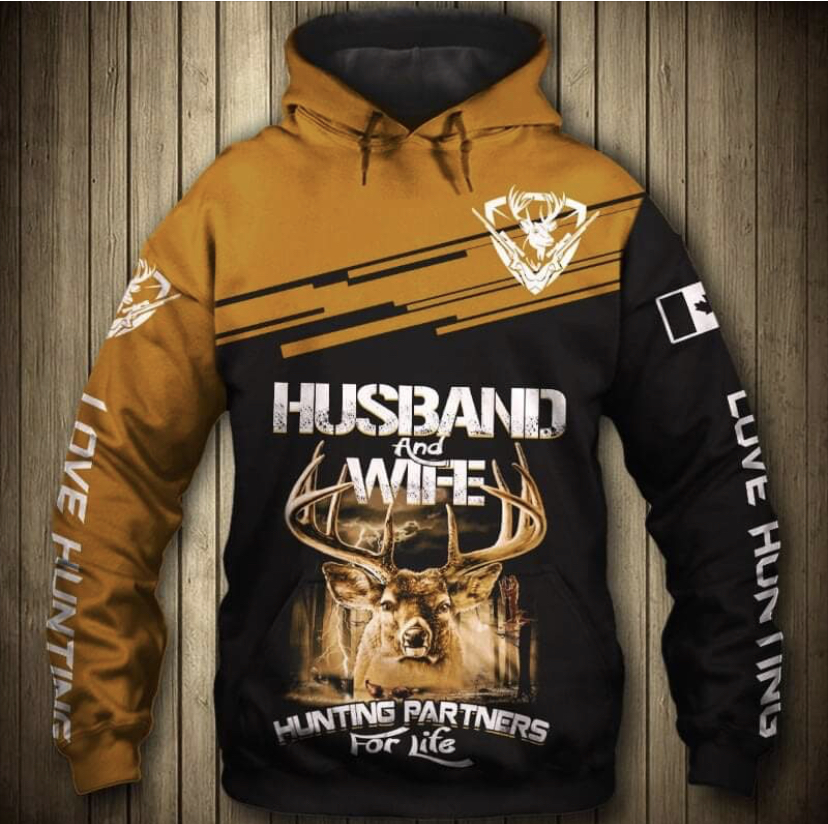HUSBAND & WIFE HUNTING HOODIE HTB1 3