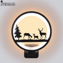 DEER WALL LAMP